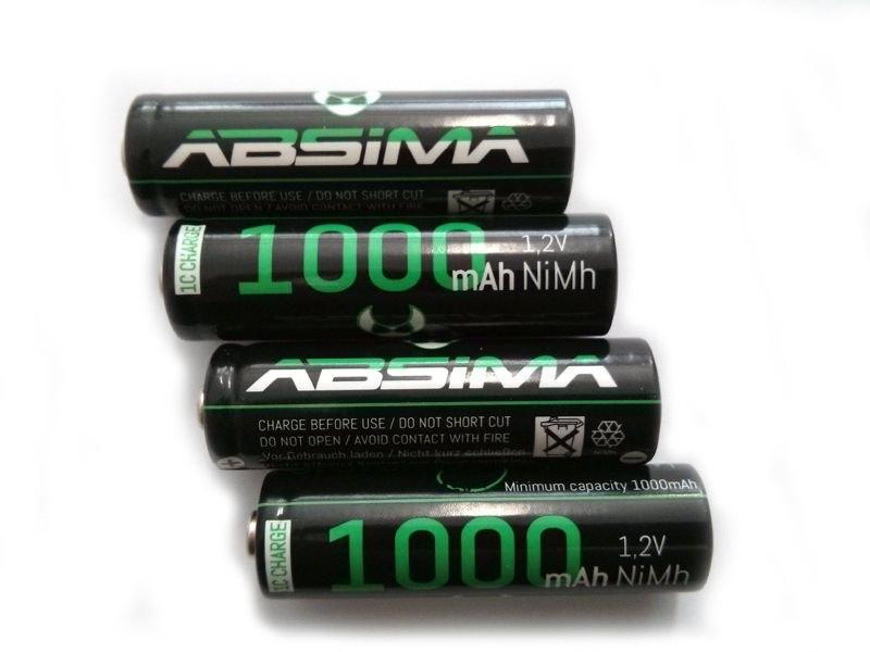 AA NiMH akumulátor 1000mAh, balení 4ks