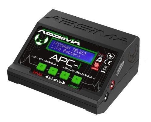 Nabíječka Absima APC-1 NiMH/LiPo/LiFe 10A 80W 12/220V