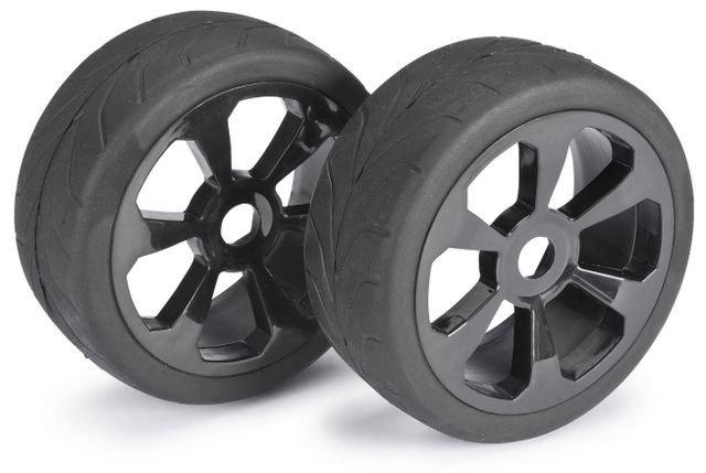 Wheel Set Buggy 6 Spoke / Street black 1:8 onroad