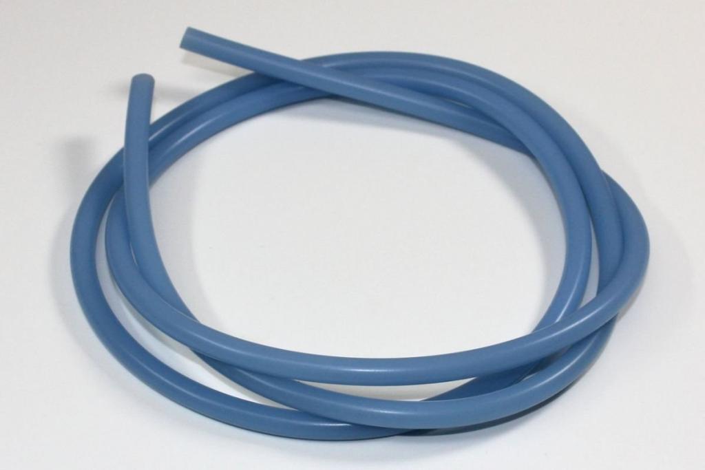 Silikonová palivová hadička vnitřní průměr 2mm modrá