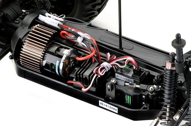 Buggy Absima AB2.4 4WD RTR 2,4GHz včetně baterie a nabíječky