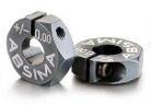 Kovové unašeče kol 12mm, offset 0mm 2ks