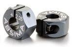 Kovové unašeče kol 12mm, offset +2,25mm 2ks