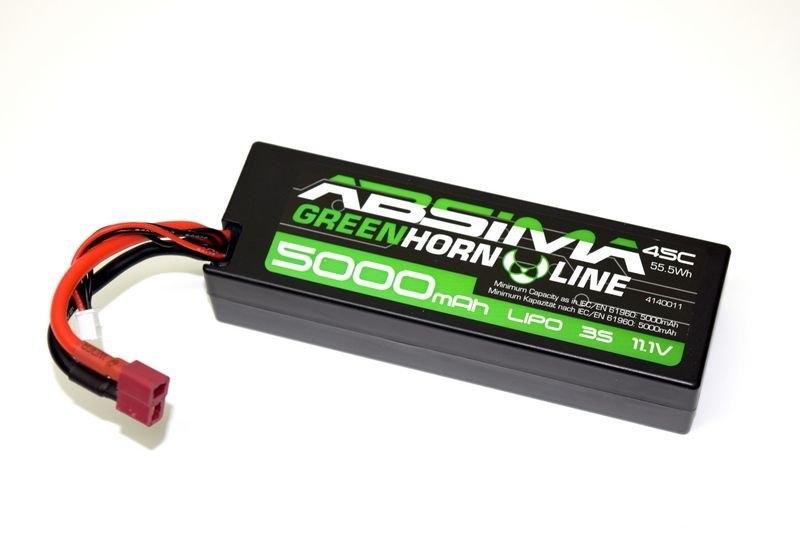 LiPo akumulátor Absima 11,1V / 5000mAh 45C konektor T-Dean