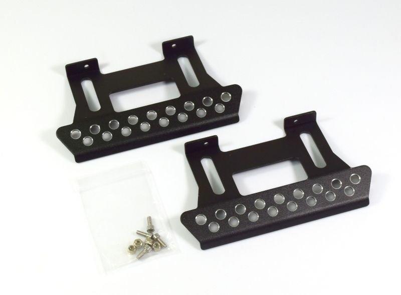 Kovové nášlapy pro Axial SCX10 / TLF černé