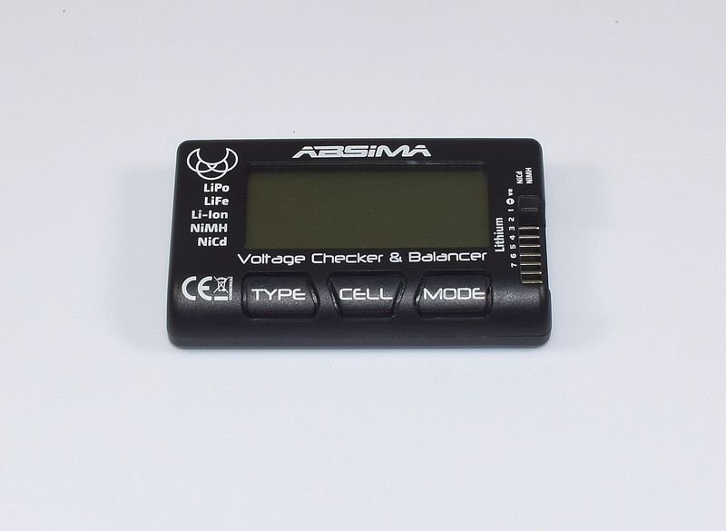 Tester baterií Absima