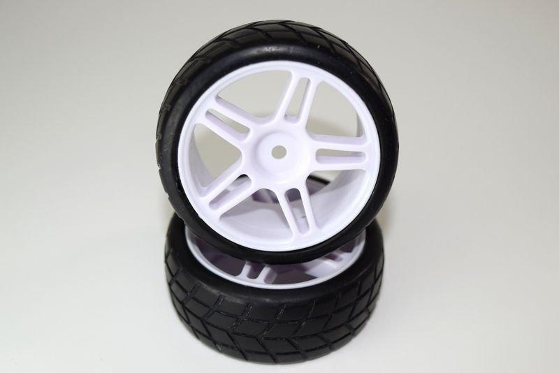 Tire set glued (2) ATC 2.4 RTR/BL