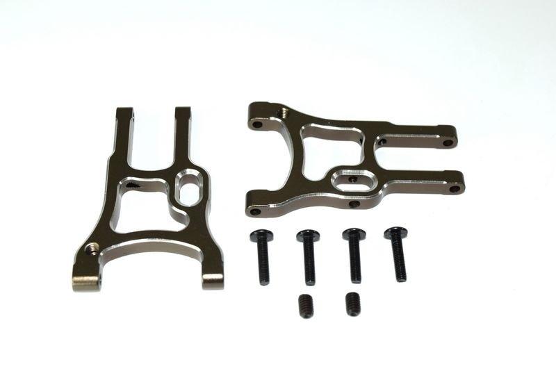 Aluminum lower suspension arm front (2) ATC 2.4 RTR/BL