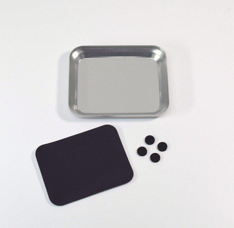 Miska na drobnosti s magnetickým dnem - stříbrná