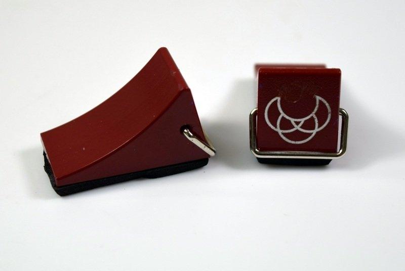 Zarážky kol - červené