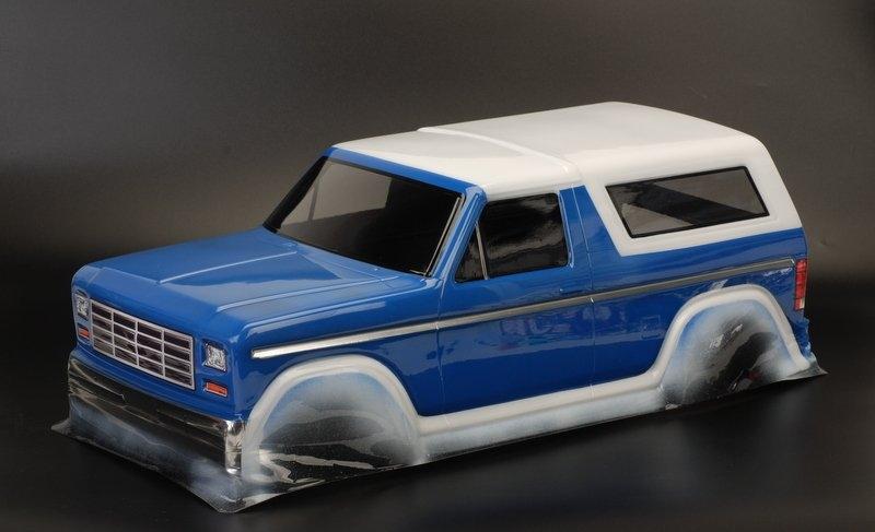 Ford Bronco, čirá karosérie, lexan, rozvor 313mm