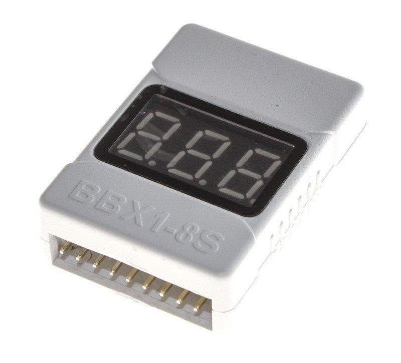 LiPo alarm 2-8S - zvuková signalizace a měřič napětí