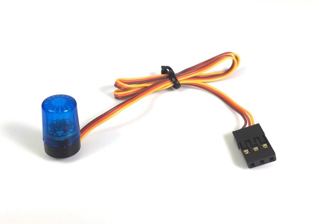 Multifunkční světelný maják 1:10, modrý