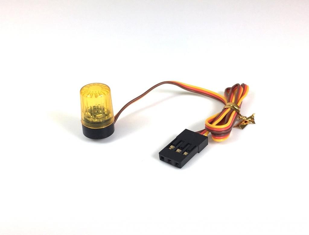 Multifunkční světelný maják 1:10, žlutý