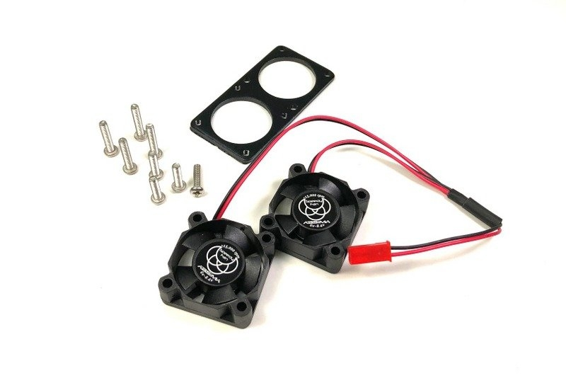Výkonné duo ventilátorů 30x30mm pro aktivní chladiče, 15000ot/min.