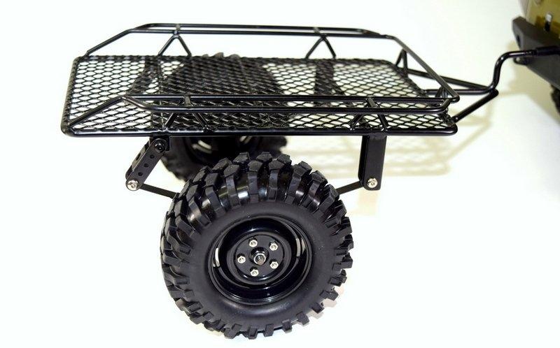 Přívěsný vozík 1:10 pro expediční modely