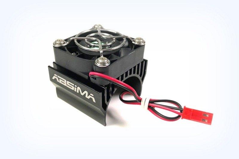 Přídavný chladič s ventilátorem pro elektromotory 40mm (1:8)