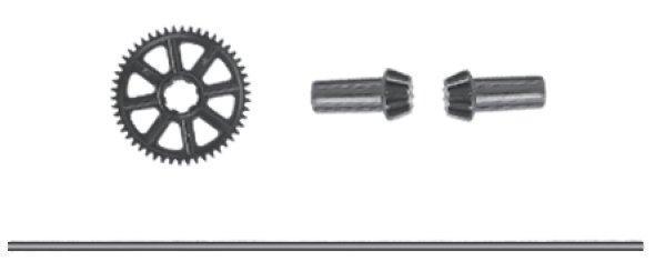 AB30-ZJ05 - Main drive shaft & gear
