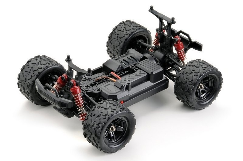 Storm Monster Truck 4WD 1:18 RTR červený