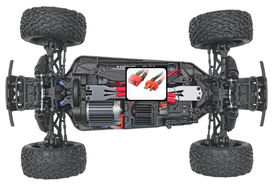 Monster Redcat Blackout SUV 4WD RTR 2,4GHz