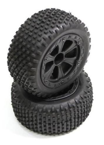 Absima 1230061 - Rear Tire Set (2) Buggy