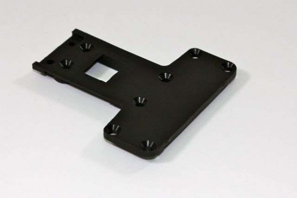 TeamC T02009 - Rear Chassis Plate 2WD