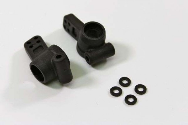 TeamC T02013 - Rear Hub Carries (2 pcs) 2WD Comp.