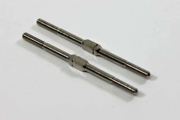 TeamC T02091 - Turnbuckle Steering 3x54mm (2 pcs) 2WD Comp. Buggy
