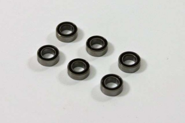 TeamC T04031 - Ball Bearing 4X7X2.5mm (6 pcs) 4WD Comp. Buggy
