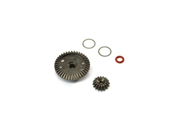 TeamC T04041 - Gear-Diff. Set 16/40T 4WD Buggy