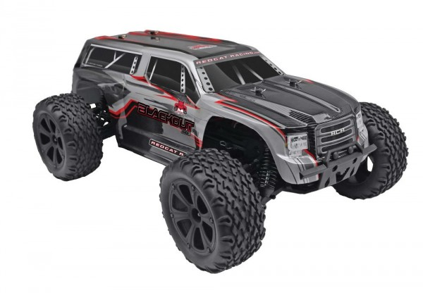 Monster Redcat Blackout SUV 4WD RTR 2,4GHz (8)
