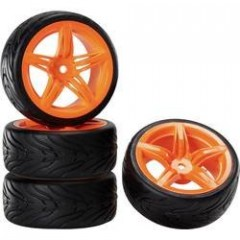 Sada kol Reely Devil Orange 1:10 onroad, 4ks