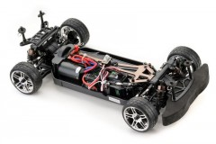 ABSIMA ATC2.4BL TOURING CAR 1:10 4WD BRUSHLESS RTR - podvozek