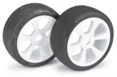 "Wheel Set Buggy ""6 Spoke / Street"" white 1:8 (2 pcs)"