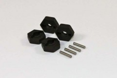 TeamC T02034 - Hex w. Pin (4 pcs) 2WD Comp.