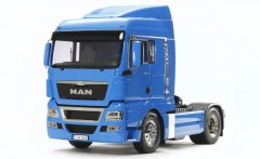 Tamiya MAN TGX 18.540  RC TRUCK 1:14  (PRE-PAINTED FRENCH BLUE)