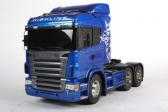Tamiya SCANIA R620 6X4 HIGHLINER Blue RC TRUCK 1:14