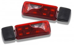 1:14 Tractor Truck Taillights 6-sect.(2)