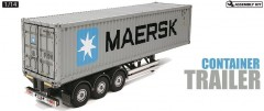 1:14 RC Container Trailer Maersk - 40ft 3-Axle