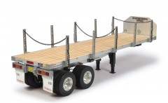 1:14 RC Flatbed Semi-Trailer