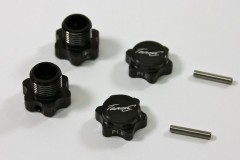 Alu Hex Mount +1mm (2) 1:8 Comp.