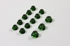 Alu Nut Set green (13) 1:8 Comp.