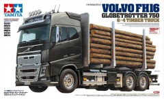 Tamiya VOLVO FH16 GLOBETROTTER 750 6X4 TIMBER TR 1:14
