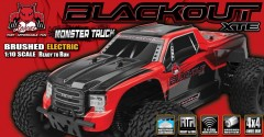 Monster Redcat Blackout XTE 4WD RTR 2,4GHz (8)